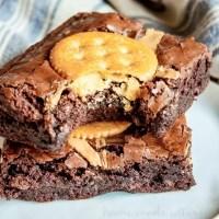 RITZ Peanut Butter Brownies
