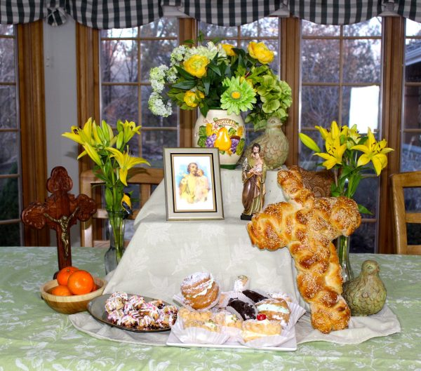 St Joseph39s Day Table Homemade Italian Cooking