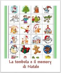 Memory da stampare e colorare contrassegni archives for Tombola di natale da stampare