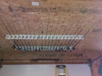 Ceiling Mount Fishing Rod Holders | Mail Cabinet