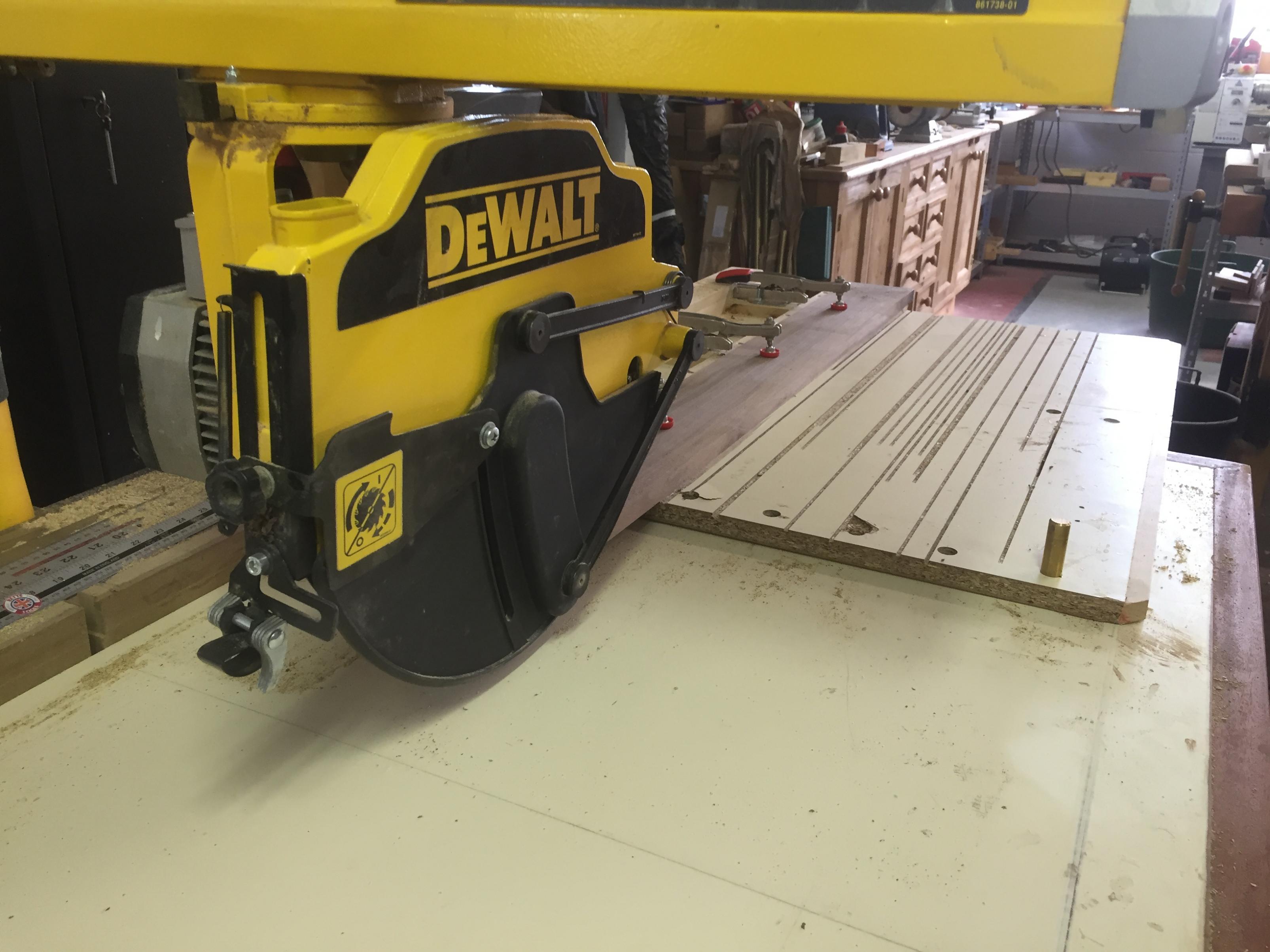 How To Build A Radial Arm Saw Table Top