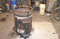 Homemade Waste Oil Furnace