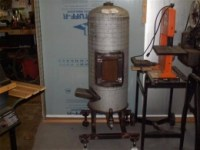Homemade Waste Oil Furnace - HomemadeTools.net