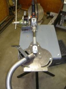 Homemade Hand Drill Press Tubing Notcher