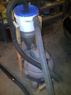 Homemade Cyclone Vacuum Cleaner