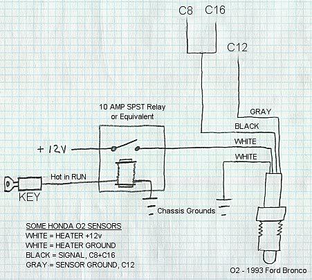 Awesome Bosch O2 Sensor Wiring Diagram Ideas Images for image – Dodge O2 Sensor Wiring