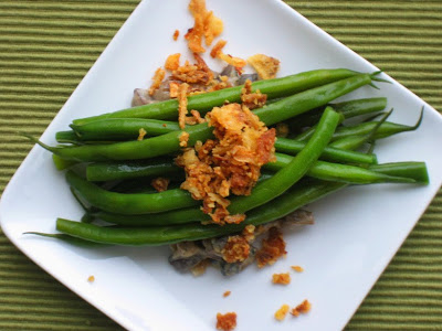 Green Bean Casserole Deconstructed
