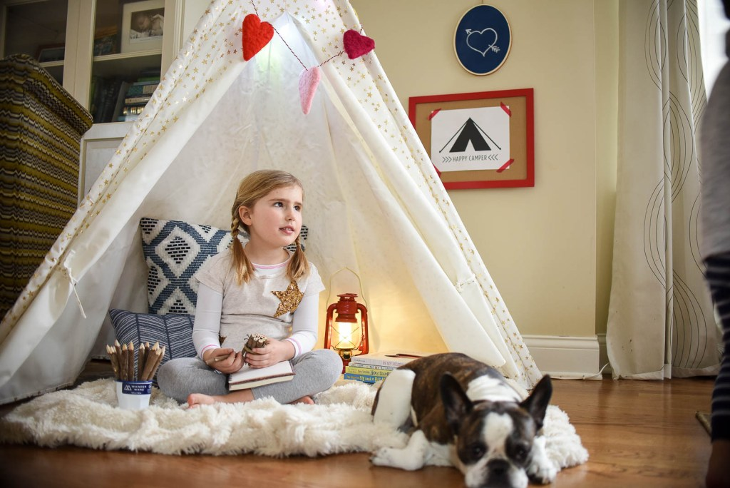 indoor camping play tent