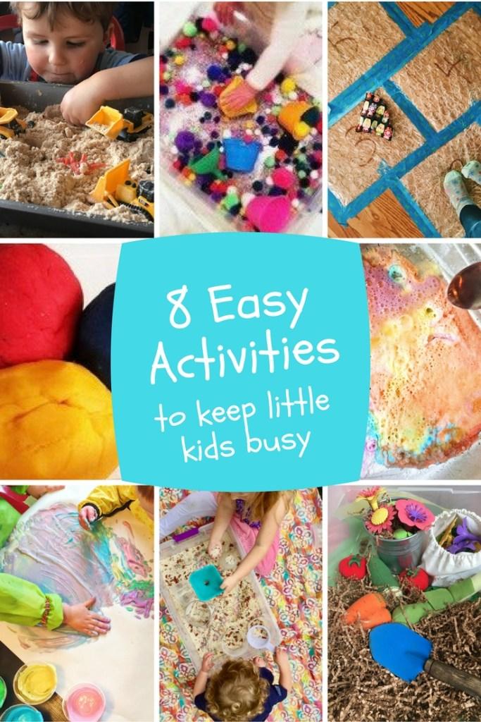 8 Easy Activities