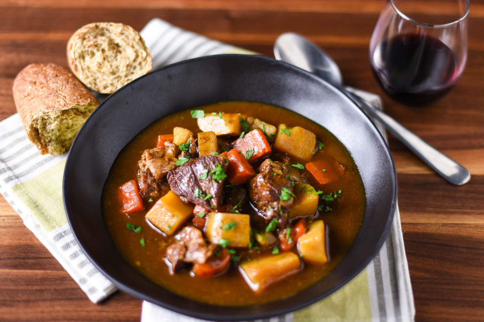 Slow Cooker Guinness Stew