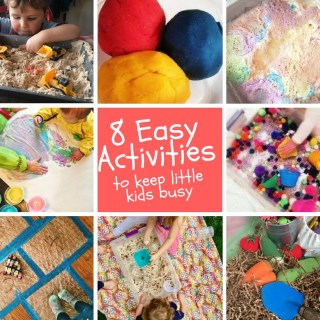 8 Easy Activities to Keep Little Kids Busy