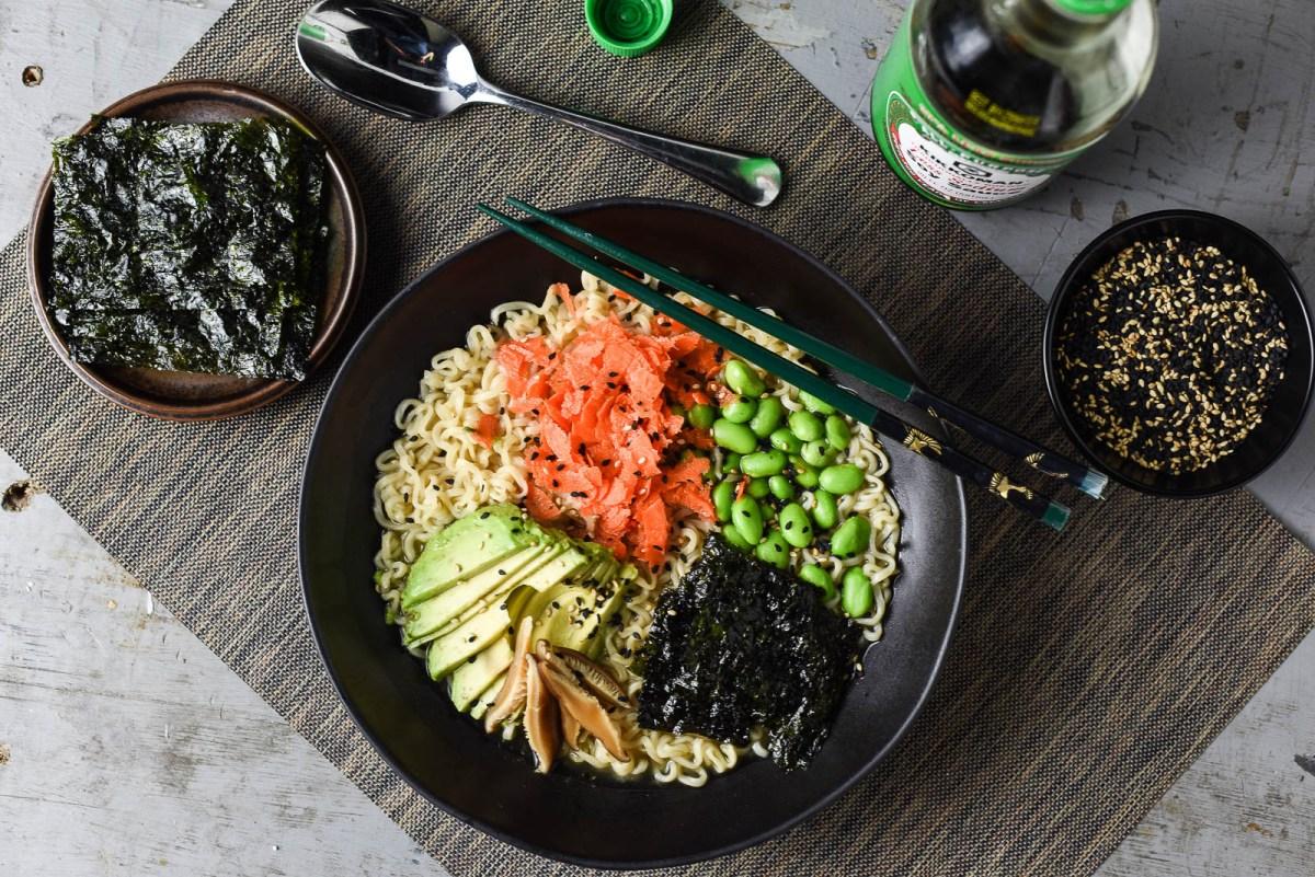 Get Slurping: 10-Minute Ramen Noodles in Easy Miso Broth