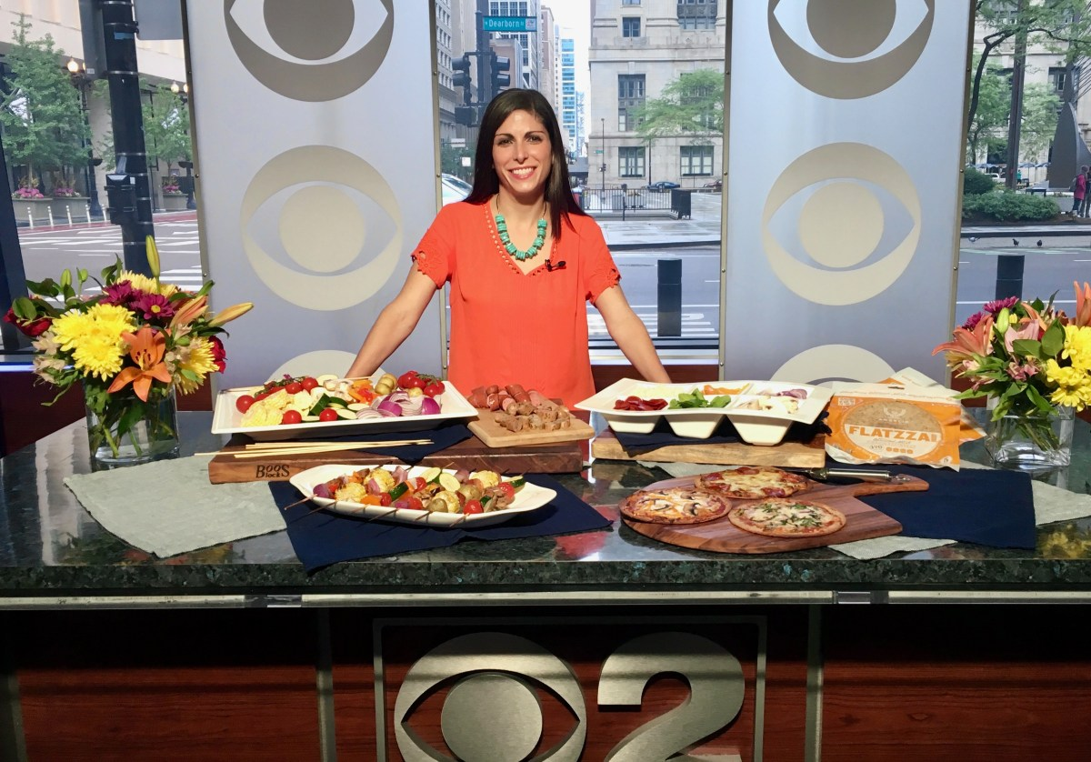 Build Your Own Shish Kabob Bar on CBS Chicago