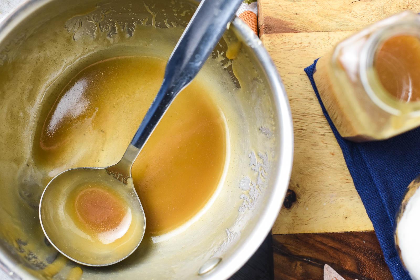 Shortcut Salted Caramel Sauce