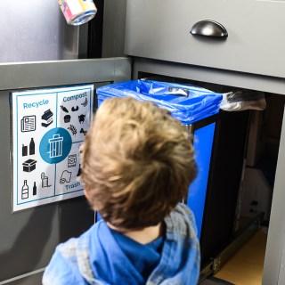 Trash Sorting Printable
