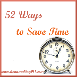 52 Ways to Save Time