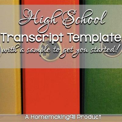 hs-transcript-template