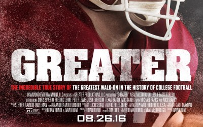 GREATER Movie Review and Thank a Coach!