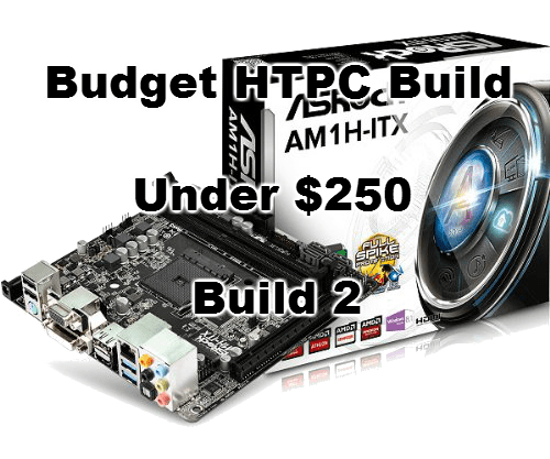 budget htpc build for