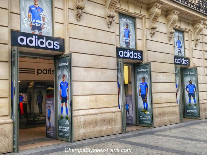 Adidas Magasin Paris 6