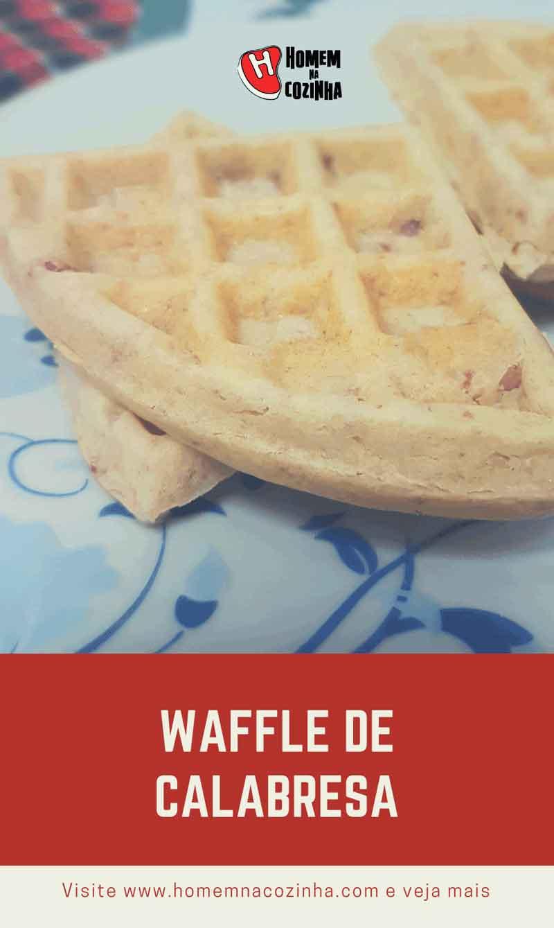 Tem Na Web - Waffle de calabresa