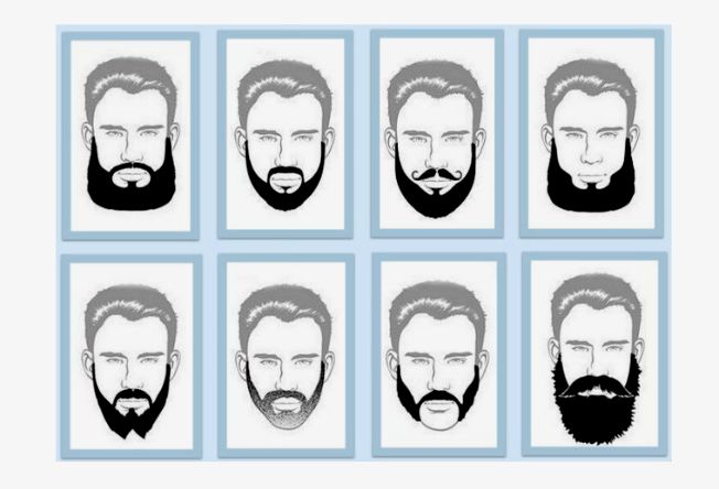 Escolha o tipo de barba ideal para seu formato de rosto - Clases de barbas ...