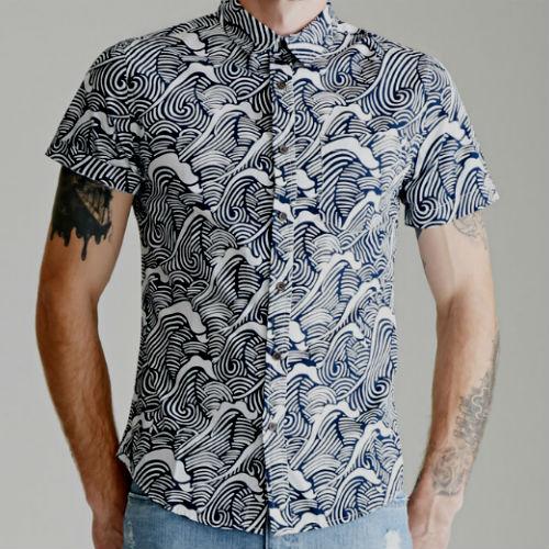 Homem No Espelho - Camisas estampadas4
