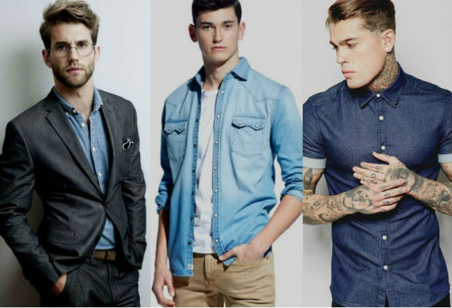 A camisa jeans é versátil: em looks casuais ou sociais, elacai bem em qualquer situação