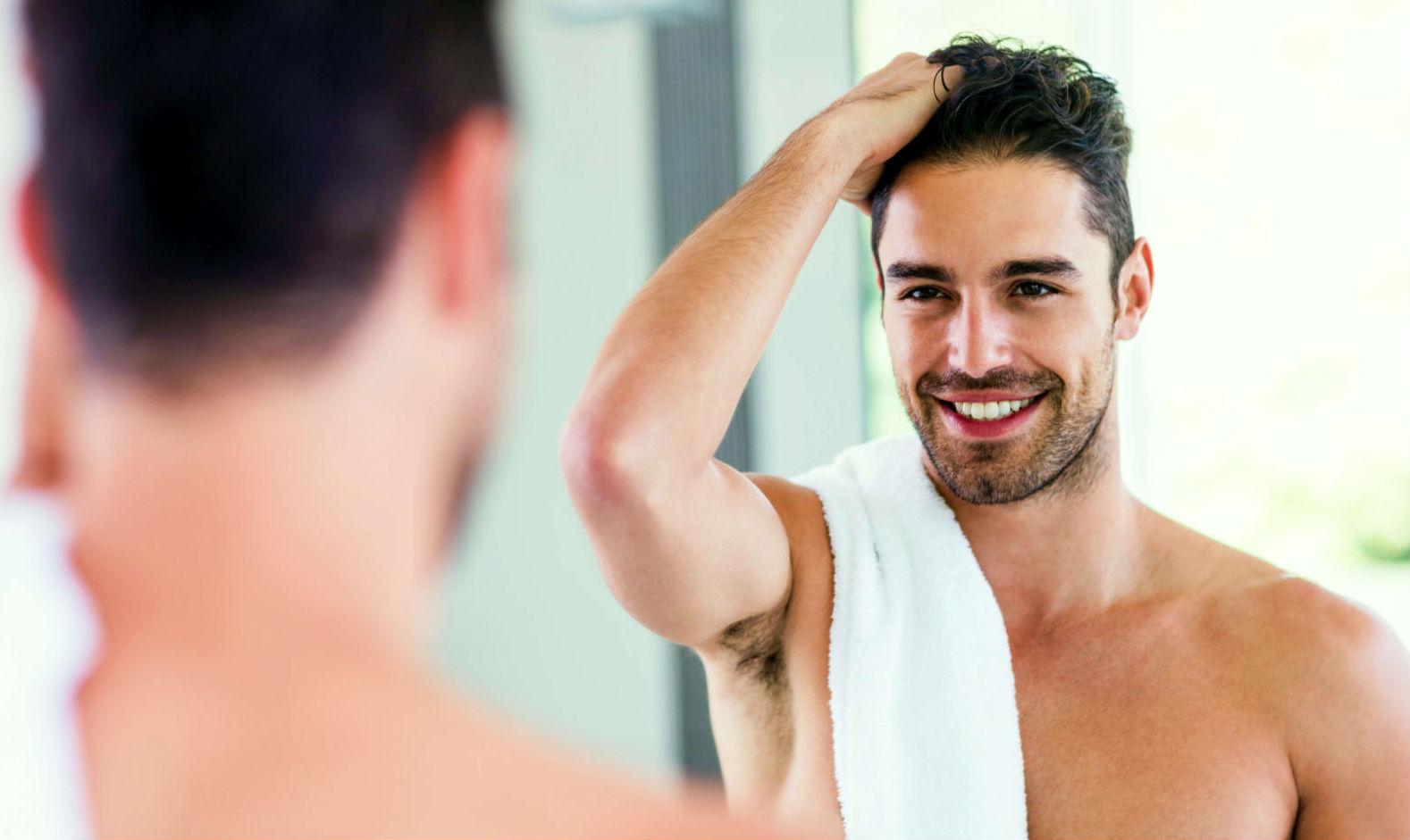 Leave in- cabelo masculino - creme para pentear -Homem No Espelho