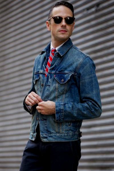 Homem No Espelho - Jaqueta jeans 1