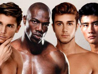 Pele masculina - Pele de homem - Homem No Espelho