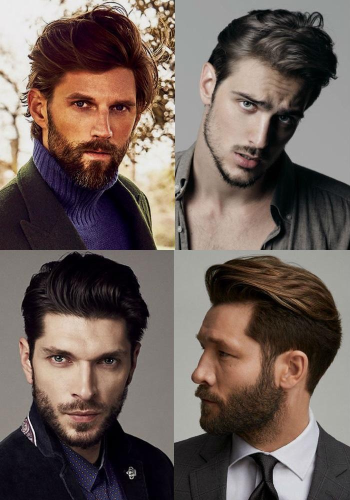 Homem No Espelho - Novos cortes de cabelos masculinos - Sweep back
