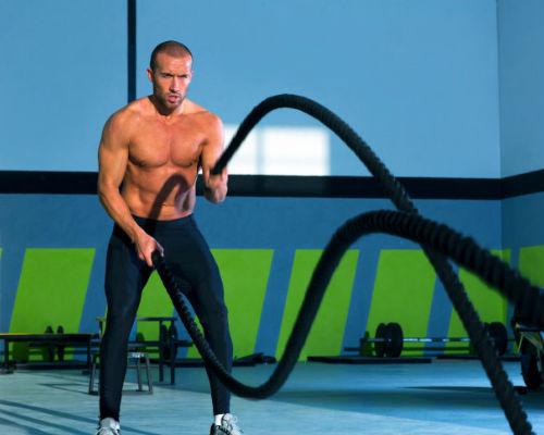 Homem No Espelho - Treino academia músculos 6.