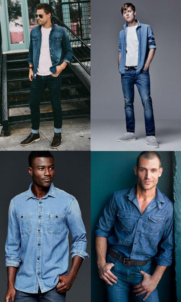 Homem No Espelho - Estilo jeans com jeans1