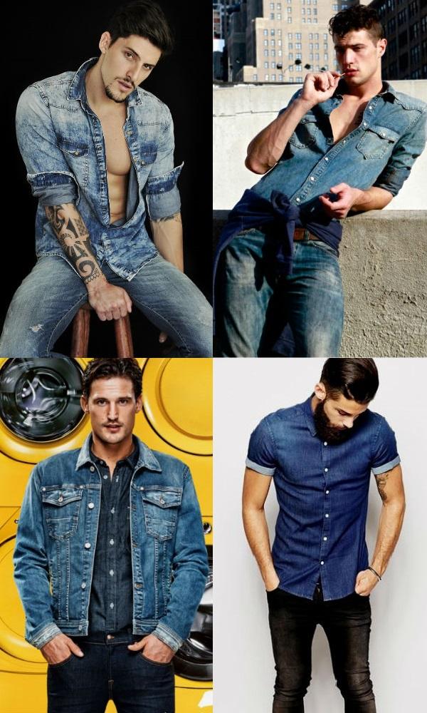 Homem No Espelho - Estilo jeans com jeans4
