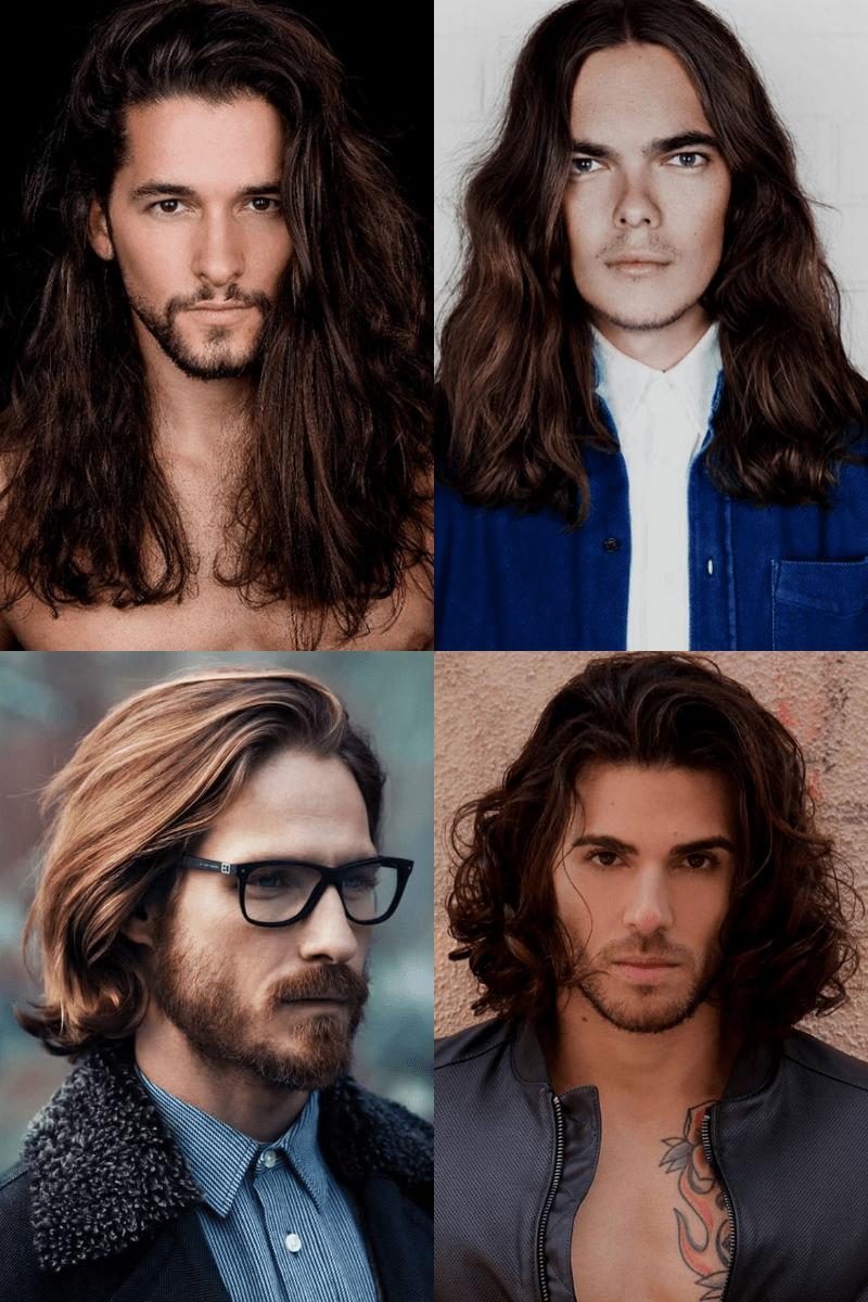 Homem No Espelho - Cortes de cabelo masculinos - longos 2016