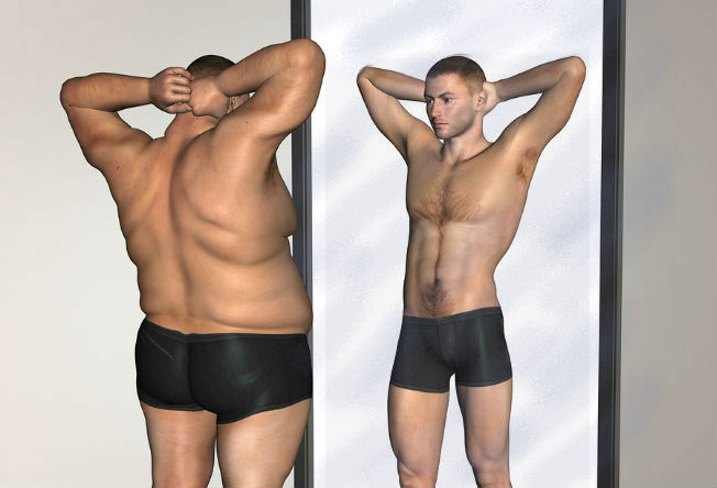 homem-no-espelho-dieta-emagrecimento-perda-de-peso