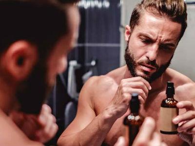 Homem No Espelho - Óleo para barba -