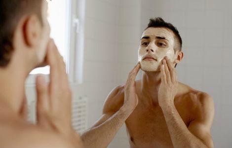 Homem No Espelho - Receitas caseiras para tratar a pele - máscara de clara de ovo