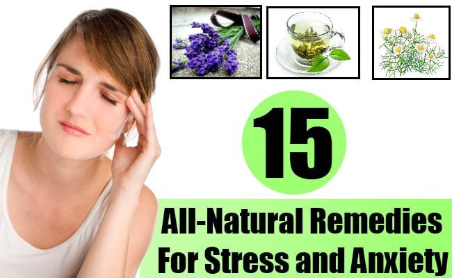 anxiety home remedy