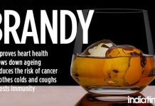 brandy health benefits