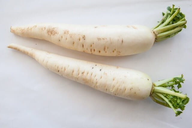 Health benefits of daikon