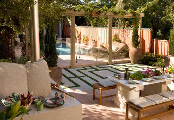 Mediterranean Style Garden Design Ideas From Plants And