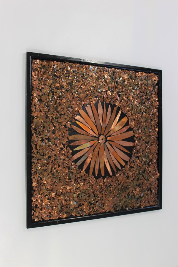 Beautiful Copper Abstract Wall Art Home Of