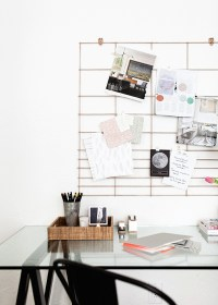 12 Beautiful Home Office Bulletin Board Ideas - Home ...