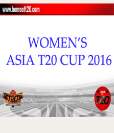 Asia T20 Cup 2016 Fixture and Results