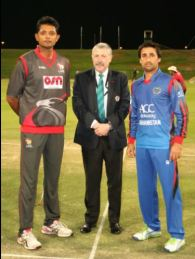 Oman and Afghanistan win their matches comprehensively