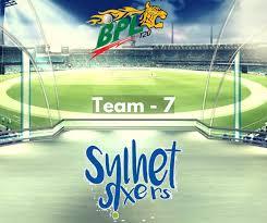 Sylhet Sixers Squad 2017