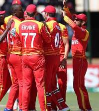 Zimbabwe Squad for Tri-Series 2018