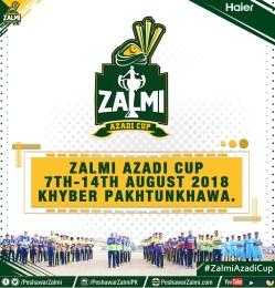 Peshawar Zalmi brings you the Zalmi Azadi Cup